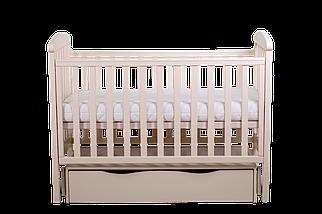 """Детская кроватка Angelo Lux -7  """"слоновая кость"""", фото 3"""