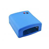 Ультрафиолетовая лампа для ногтей с таймером UKC K818 36 Вт Синий