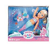 Интерактивная кукла Zapf Baby Born Сестричка-Русалочка 32 см с аксессуарами (824344) , фото 1