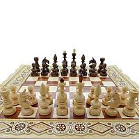 """Деревянные, резные шахматные фигуры """"Класические"""" №2. Ручная работа"""