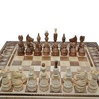 """Деревянные, резные шахматные фигуры """"Класические"""" №4. Ручная работа, фото 1"""