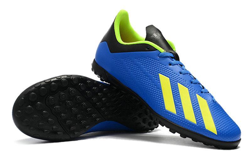 Мужские бутсы сороконожки adidas X Tango 18.4 TF blue