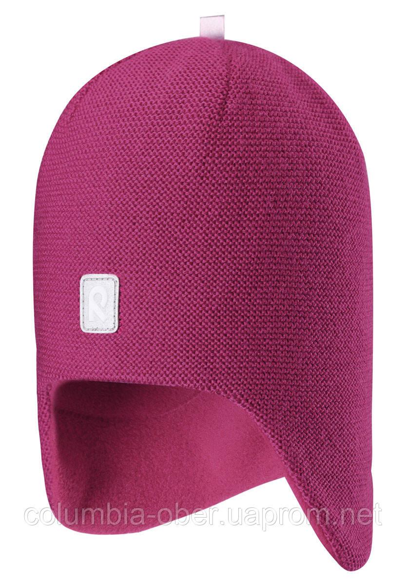 Зимняя шапка-бини для девочки Reima Lumula 528594-3600. Размер 52.