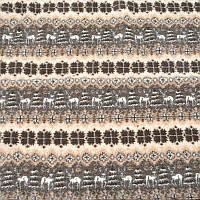 Одеяло из овечьей шерсти, 2х2,2 м. Расцветка Олени, фото 1