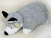Подушка Волк, большая