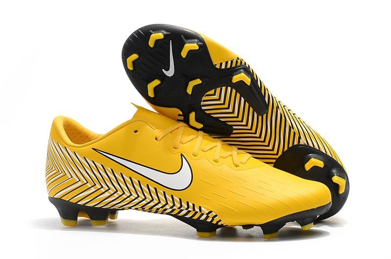 Бутсы Nike Mercurial Vapor XII FG Neymar yellow - Интернет-магазин
