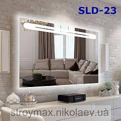 Дзеркало з вбудованим підсвічуванням SLD-23 (800х600)
