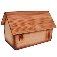Хлебница деревянная. Домик