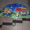 Зонт трость детский Миньйоны