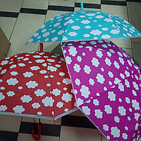 Зонт детский трость Облачка, фото 1