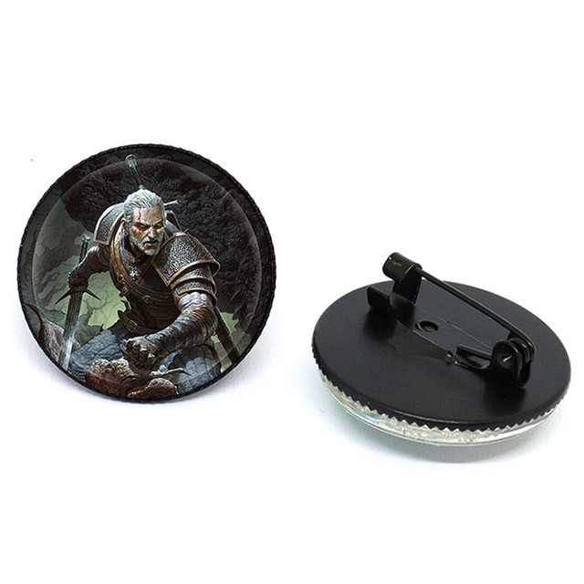 Значок по игре Witcher 3  Геральт