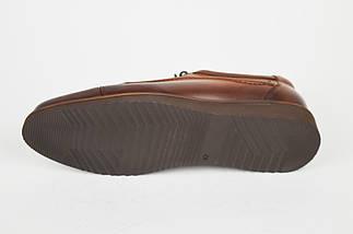 Рыжие мужские туфли Fabio 418, фото 3