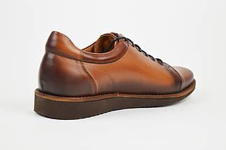 Рыжие мужские туфли Fabio 418, фото 2