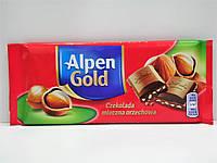 Молочный шоколад Alpen Gold с лесным орехом 90г , фото 1