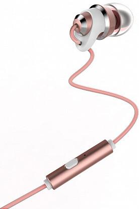 Наушники Remax RM-585 Metal Touching Earphone Pink (AIR6)