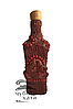Бутылка декоративная украинская
