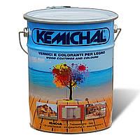 Лак для дерева водный прозрачный OA1221G30 для наружных работ KEMICHAL (Италия), (5кг)