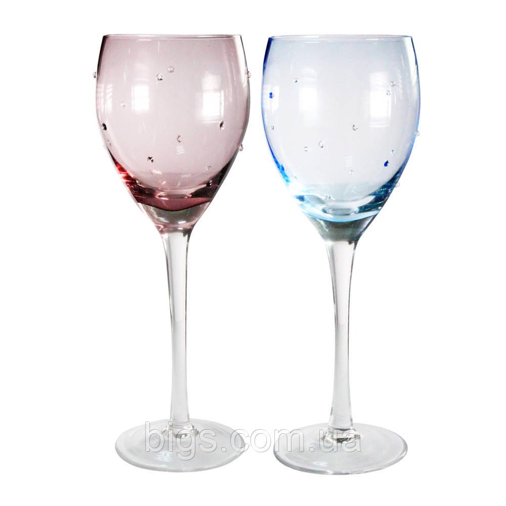Бокалы для шампанского 6 шт 300 мл Искра ( набор бокалов )