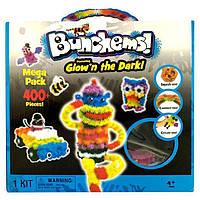 Конструктор-липучка Bunchems (Банчемс) светящийся 400 деталей