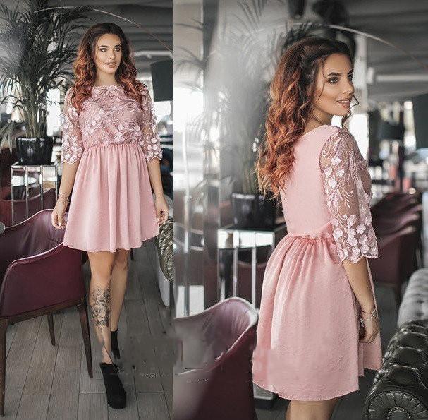 4fe67cc0488 Купить Роскошное женское короткое платье (К24272)  ...  в Украине