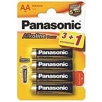 Батарейка Panasonic ALKALINE POWER AA BLI 4 (3+1)