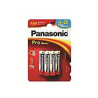Батарейка Panasonic PRO POWER AAA BLI 6 (4+2) ALKALINE