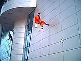 Высотные работы мойка фасадов зданий, фото 5