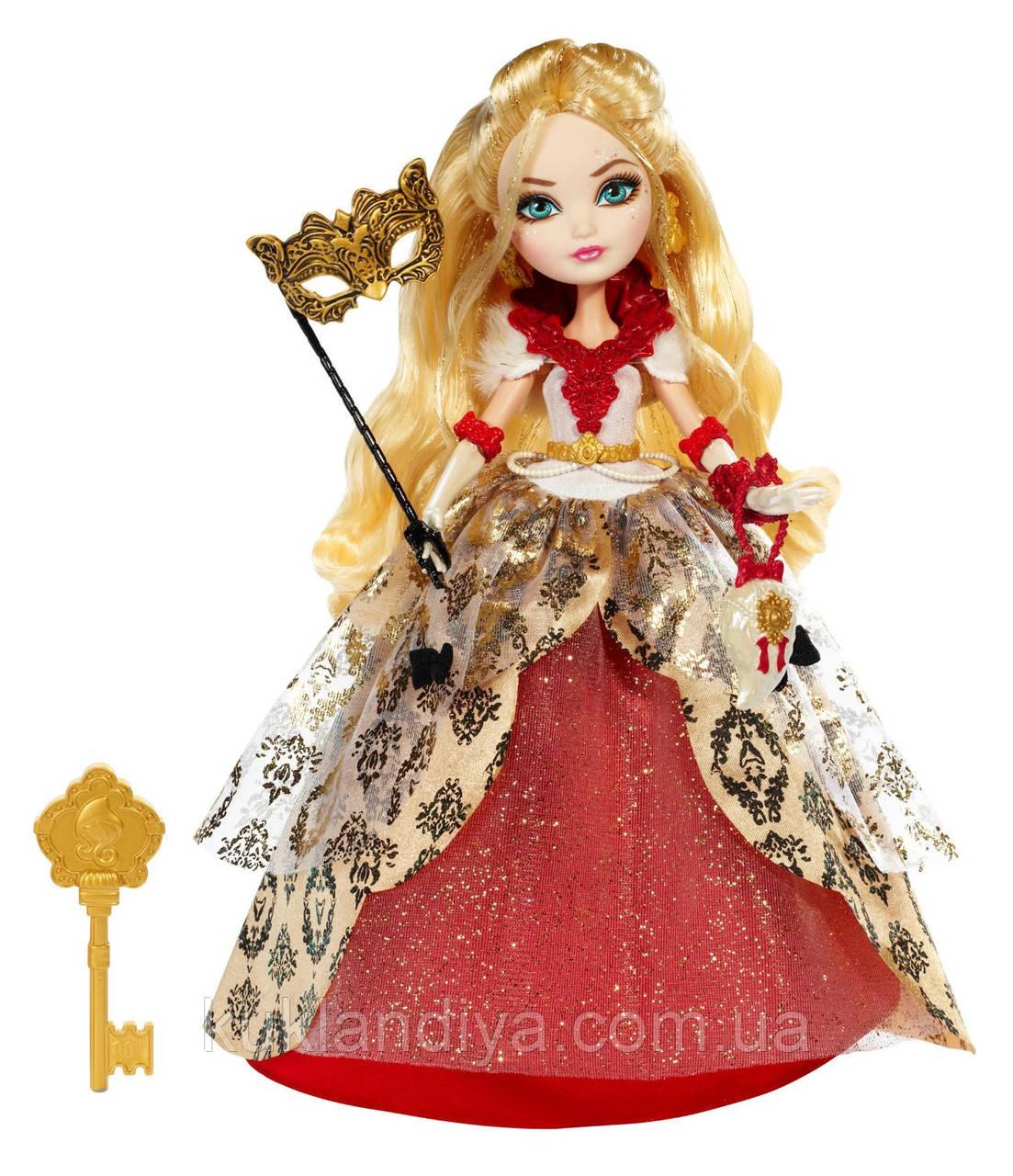 Кукла Ever After High Эппл Уайт Бал Коронации Apple White Thronecoming
