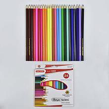 Карандаши цветные 0681 (120) 24шт в упаковке