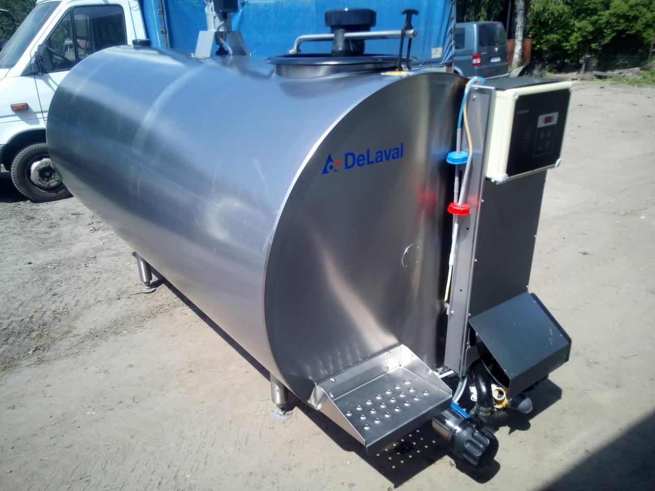 Охладители молока DeLaval. Модель DX/CR. Характеристики и описание.
