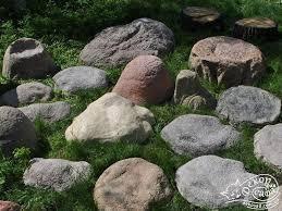 Декоративные камни крышки