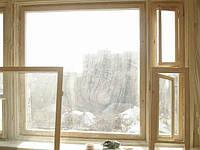 Установка деревянных окон. Киев