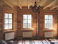 Монтаж деревянных окон в коттеджах