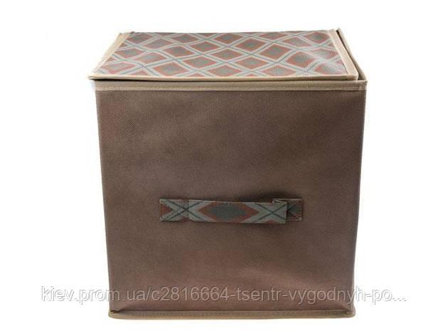 """Короб для хранения вещей 30*40*16 """"Brown"""", фото 2"""