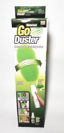 Щетка Go Duster  вращающаяся для удаления пыли электрическая