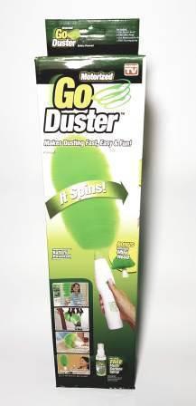 Щетка Go Duster  вращающаяся для удаления пыли электрическая, фото 2