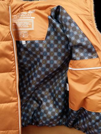 Детская демисезонная куртка БОМБЕР на мальчика, р.34-44, фото 2