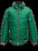 Детская демисезонная куртка БОМБЕР на мальчика, зеленая, р.34-44