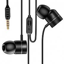 Проводные наушники-вкладыши Baseus Encok H04 3,5 мм AUX с микрофоном (Черные), фото 2