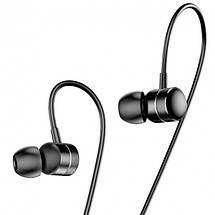Проводные наушники-вкладыши Baseus Encok H04 3,5 мм AUX с микрофоном (Черные), фото 3