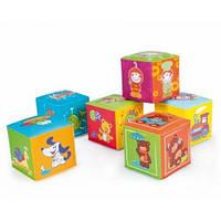 Игрушка-кубик мягкая  6 шт Canpol babies