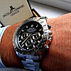 Металлические мужские часы Rolex Daytona, Ролекс, срібний чоловічий годинник - Фото
