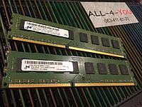 Оперативна пам`ять MICRON DDR3 4GB PC3 10600U 1333mHz Intel/AMD