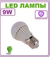 Лампочка светодиодная LED Е27, 9 Вт, 220 В