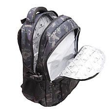 Рюкзак городской BagHouse 49х29х20 сине-серый ткань нейлон  кс3219син сер, фото 3