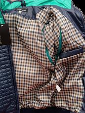 Детская демисезонная куртка-жилетка на мальчика зеленая, р.32-44, фото 3