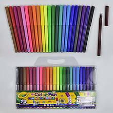 Фломастеры 01486 (144) 24шт в упаковке, 24 цвета