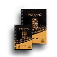 Альбом для эскизов Fabriano Schizzi Sketch на спирали, A5, 90 г/м2, 60 лист.
