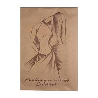 Альбом для эскизов Лилия Холдинг Мода, 29x41, 70/78 г/м2, 40 лист., с калькой (ЭМ3)