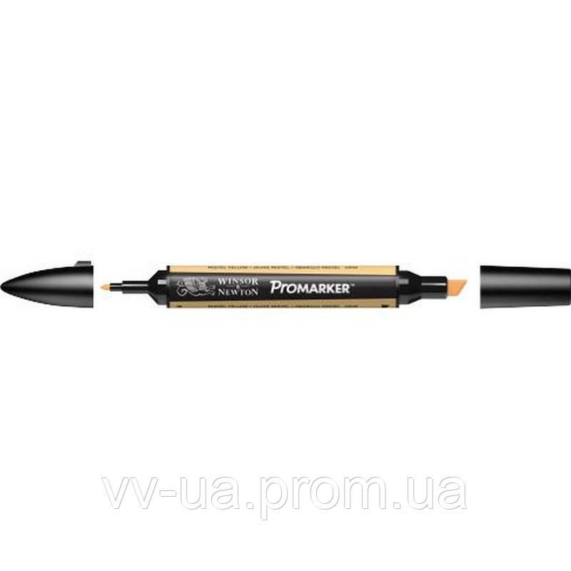 Маркер Winsor & Newton ProMarker, Желтый пастельный o949, перм.прозр. (LS-884955042014)